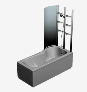 imagen Hidromasaje con duchador 3d, en Hidromasajes - Sanitarios