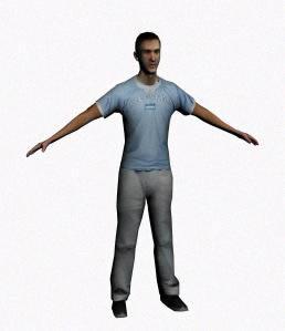 Hombre3d, en 3d – Personas