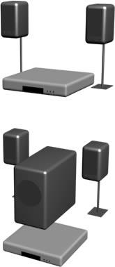 Home theater, en Electrodomésticos – Muebles equipamiento