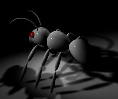 Hormiga 3d, en Animales 3d – Animales