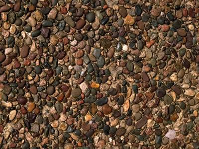 Hormigon de piedra lavada, en Piedra – Texturas