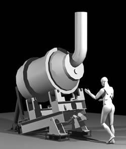 Planos de Horno de fundicion, en Maquinaria e instalaciones industriales – Máquinas instalaciones