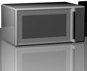 imagen Horno microondas 3d, en Electrodomésticos - Muebles equipamiento