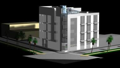 imagen Hospedaje 3d, en Casinos hoteles y restaurantes - Proyectos