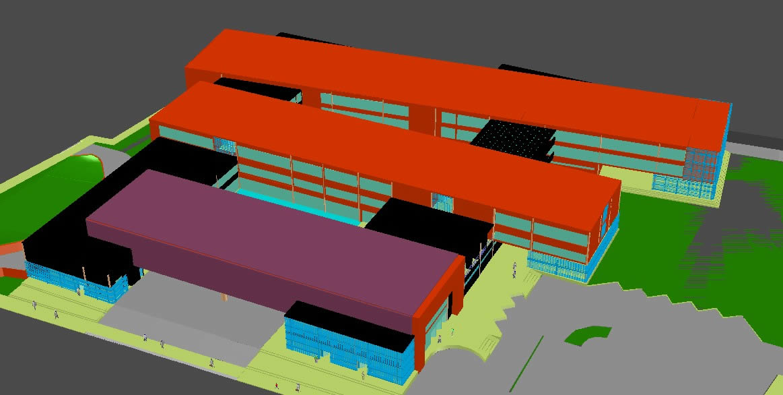 Planos de Hospital 3d, en Proyectos – Hospitales