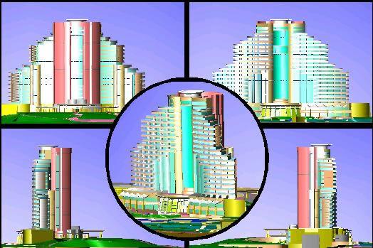 imagen Hotel sandy beach hotel en la isla snoopy 3d, en Casinos hoteles y restaurantes - Proyectos