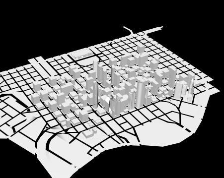 imagen Houston - modelo 3d, en Estados unidos - Diseño urbano
