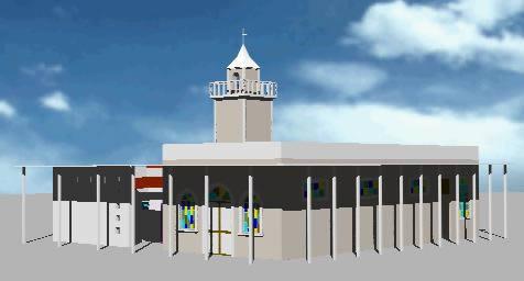 Planos de Iglesia 3d, en Arq. religiosa – Proyectos