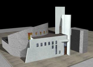 Iglesia 3d, en Arq. religiosa – Proyectos