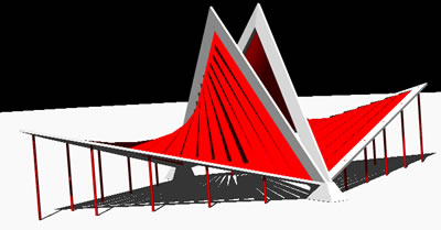 imagen Iglesia 3d, en Arq. religiosa - Proyectos