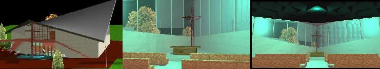 imagen Iglesia ciudad de mexico 3d, en Arq. religiosa - Proyectos