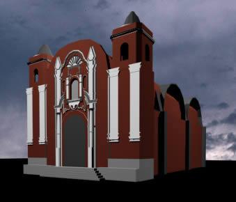 Iglesia patrocinio 3d, en Iglesias y templos – Historia