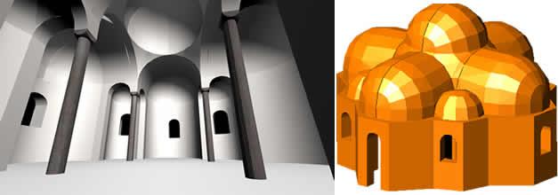 imagen Iglesia románica en 3d, en Iglesias y templos - Historia