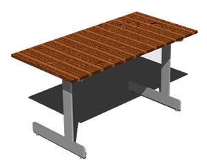 Planos de Ikea – escritorio jerkel, en Escritorios – Muebles equipamiento