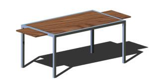 Planos de Ikea - mesa pelto, en Mesas y juegos de comedor 3d ...