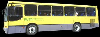 imagen Imagen de autobus con opacidad, en Autobuses - Medios de transporte