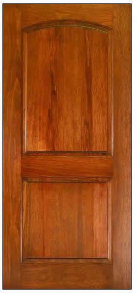 Imagen de puerta apanelada, en Puertas – fotografías – Aberturas