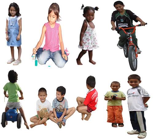 Imagenes de niños, en Fotografías para renders – Personas