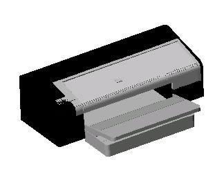 Planos de Impresora hp deskjet 9800, en Informática – Muebles equipamiento