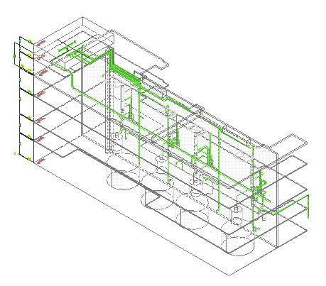 Planos de Industrial 3d cañerias, en Plantas industriales – Proyectos