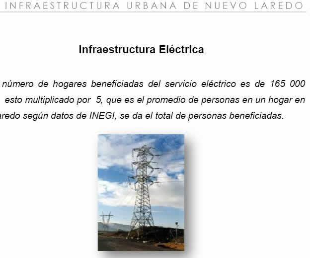 imagen Infraestructura urbana de nuevo laredo - 3 de 3, en Monografías guías y estudios varios - Varios