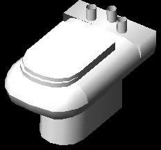 imagen Inodoro 3d, en Inodoros 3d - Sanitarios