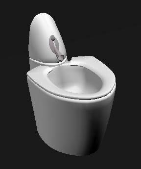 Planos de Inodoro 3d, en Inodoros 3d – Sanitarios