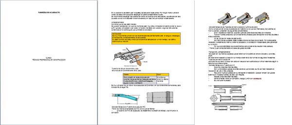 Instalacion de tuberia general de agua potable, en Monografías guías y estudios varios – Varios