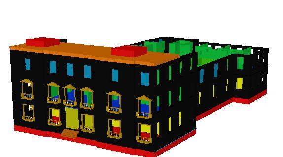 Planos de Intendencia de talca 3d, en Teatros y edificios públicos – Historia