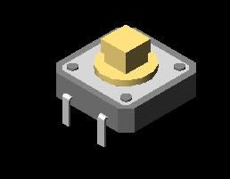 Planos de Interruptor  3d, en Componentes 3d – Electrónica