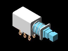 Planos de Interruptor, en Componentes 3d – Electrónica