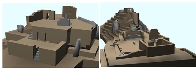 Planos de Intihuatana 3d, en Centros históricos urbanos – Historia