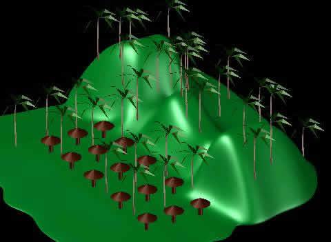 Planos de Isla 3d, en Ejercicios varios – Dibujando con autocad