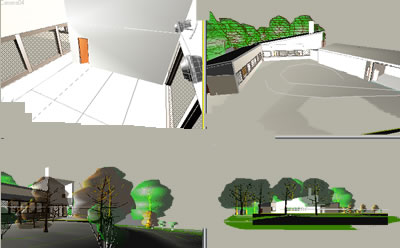 Jacobsen house 3dmax, en Vivienda unifamiliar 3d – Proyectos