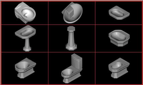 imagen .juego de baño ideal standard - classic, en Juegos de baño ideal standard 3d - Sanitarios
