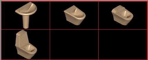 Planos de .juego de baño ideal standard – evanea, en Juegos de baño ideal standard 3d – Sanitarios