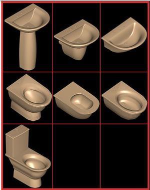 imagen Juego de baño ideal standard - fiorile, en Juegos de baño ideal standard 3d - Sanitarios
