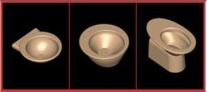 Planos de .juego de baño ideal standard – tonda, en Juegos de baño ideal standard 3d – Sanitarios