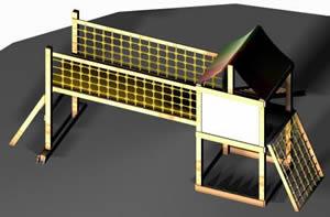 Juego de madera, en Juegos – Muebles equipamiento