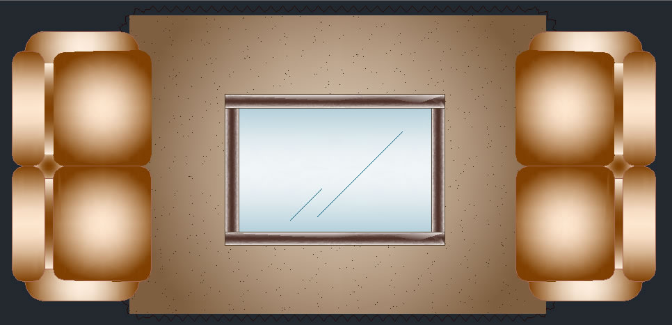 imagen Juego de sala, en Sillones 2d - Muebles equipamiento