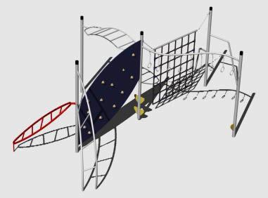 imagen Juegos infantiles 3d, en Jardín de infantes - Muebles equipamiento
