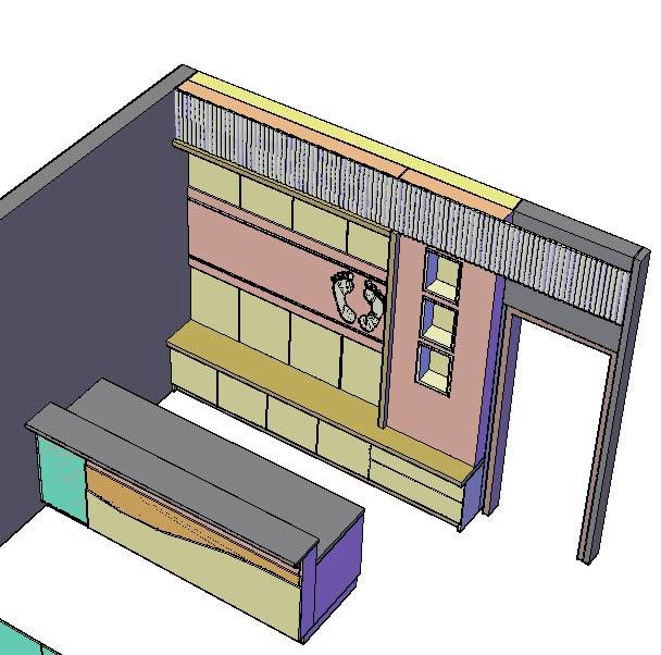 Planos de Kakiku reflexologia, en Oficinas y laboratorios – Muebles equipamiento
