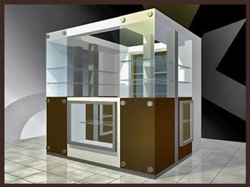 Kiosco de ventas, en Comercios varios – Proyectos