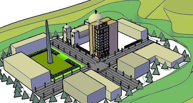 imagen La ciudad de santiago, en España - Diseño urbano