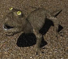 Lagarto 3d, en Animales 3d – Animales