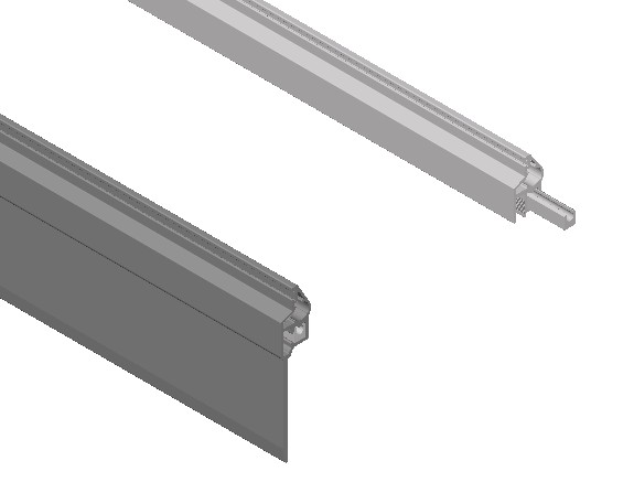 Planos de Lama de ventana 3d, en Ventanas 3d – Aberturas