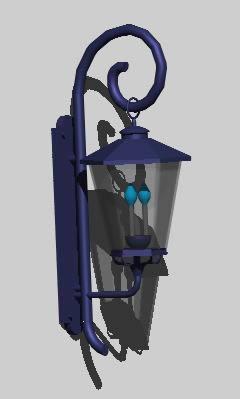 Planos de Lampara 3d, en Luminarias – Electricidad iluminación