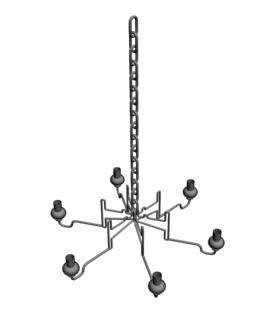 Lampara 3d, en Luminarias – Muebles equipamiento
