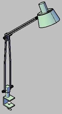 Planos de Lampara de dibujo, en Luminarias – Muebles equipamiento