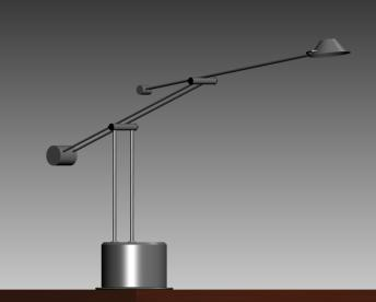 Lampara de escritorio moderna, en Luminarias – Electricidad iluminación